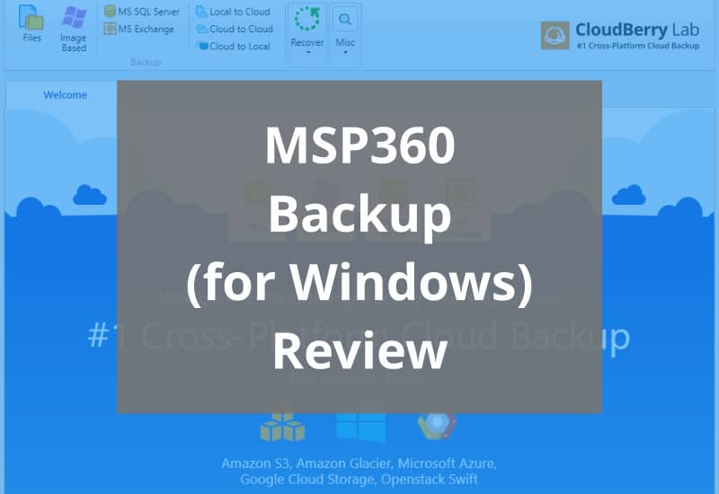 Msp360 Backup Review Featured Image