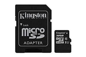 Kingston MicroSD Card & Adapter