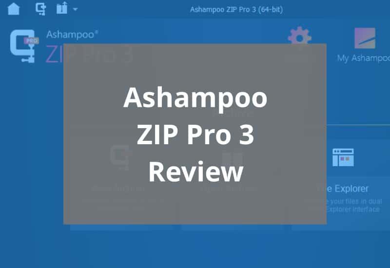 Ashampoo Zip Pro 3 Featured Image