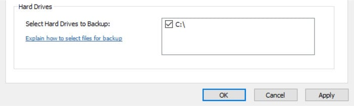 backblaze review select drives for backup