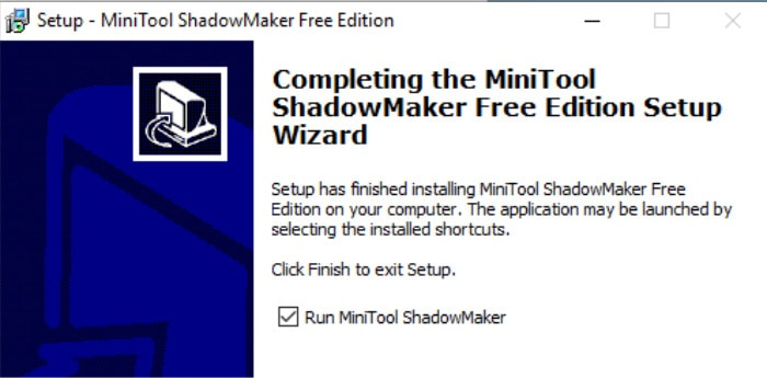 shadowmaker review install screen