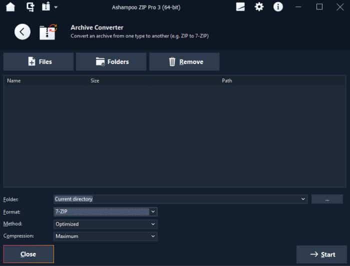 zip pro 3 archive converter