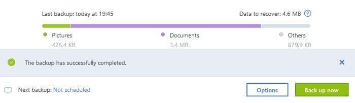 acronis true image backup complete