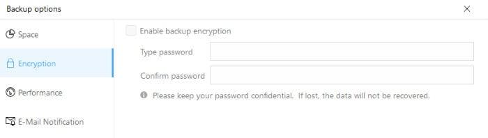 easeus todo home backup encryption
