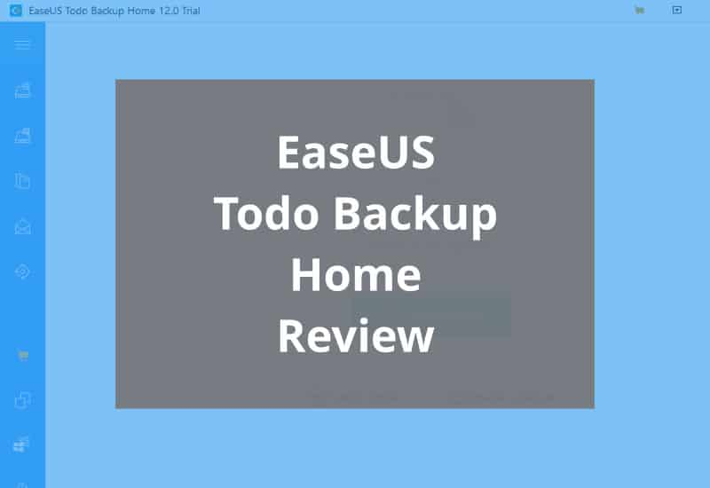 Easeus Todo Backup Home Featured Image