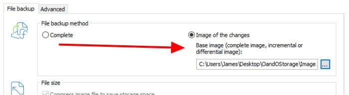o&o diskimage 15 base image incremental