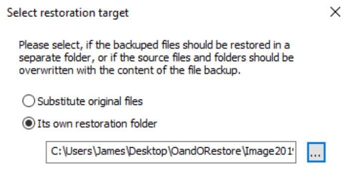 o&o diskimage 15 restore location