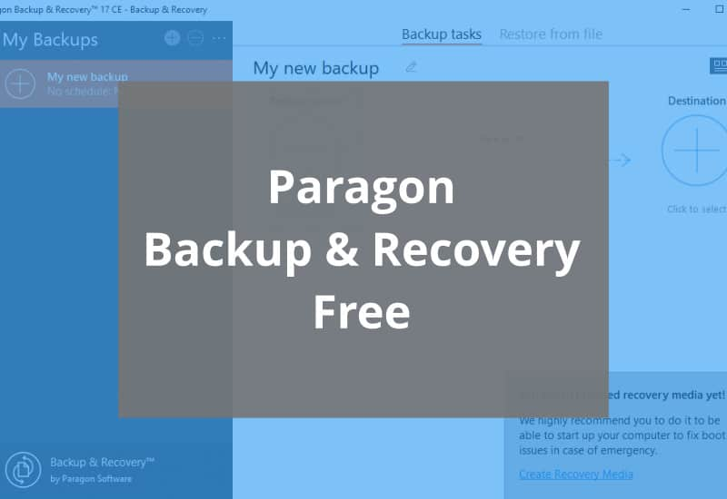 Paragon Backup And Recovery Free Featured Image