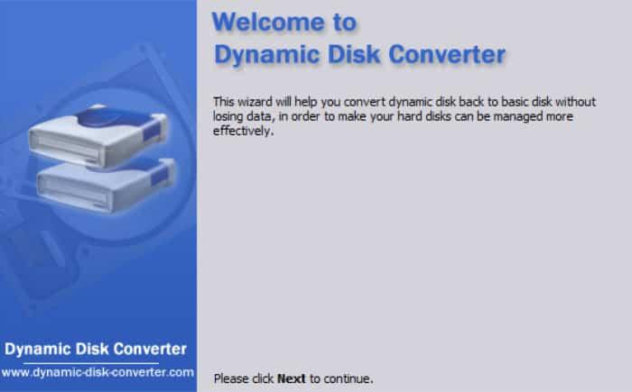 aomei dynamic disk converter wizard