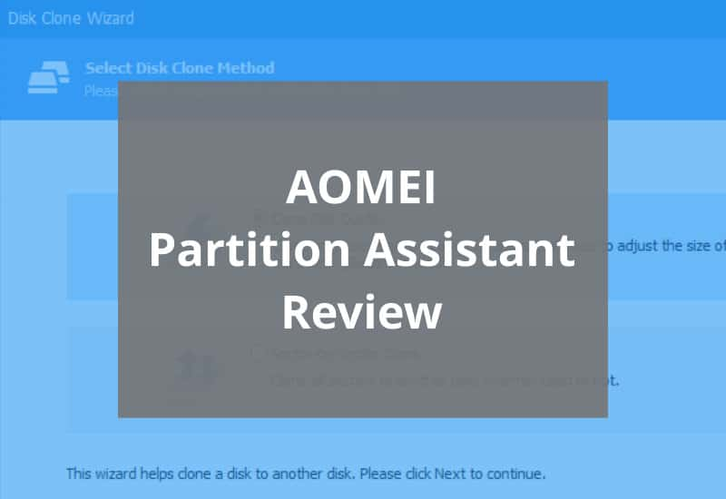 Aomei Partition Assistant Review Featured Image
