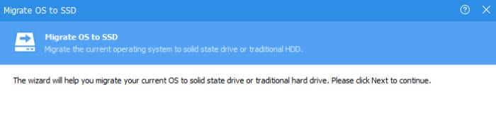 aomei partition assistant migrate to ssd