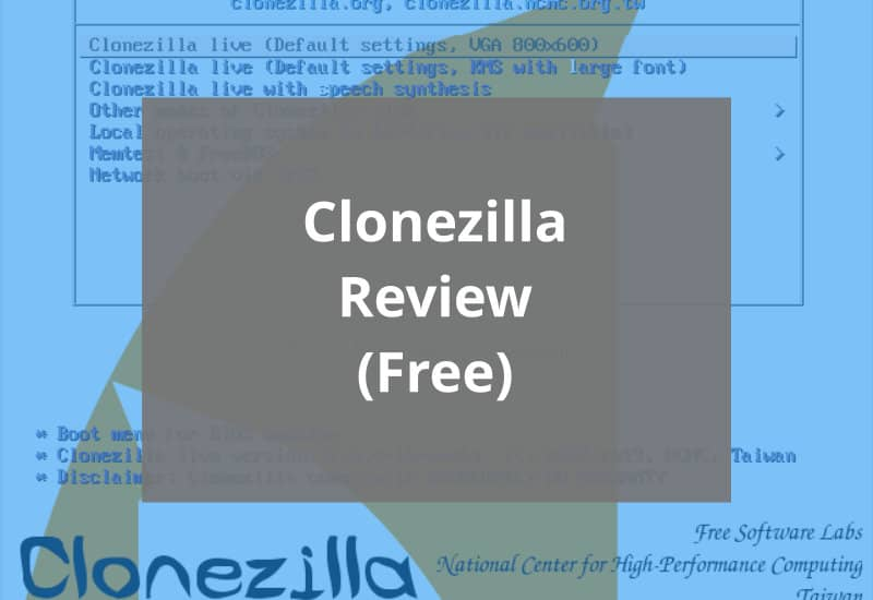 Clonezilla Review Featured Image