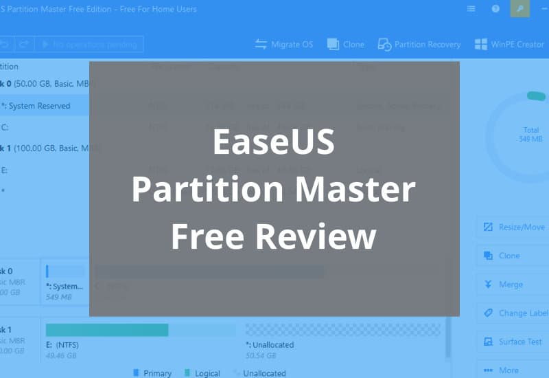 Easeus Partition Master Review Featured Image