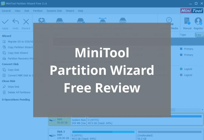 Minitool Partition Wizard Free Review Featured Image