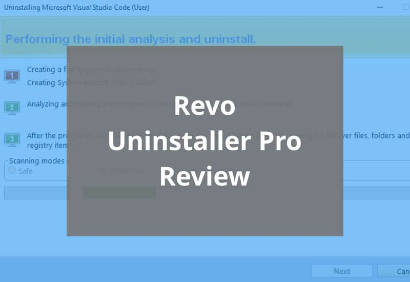 Revo Uninstaller Pro Review Featured Image