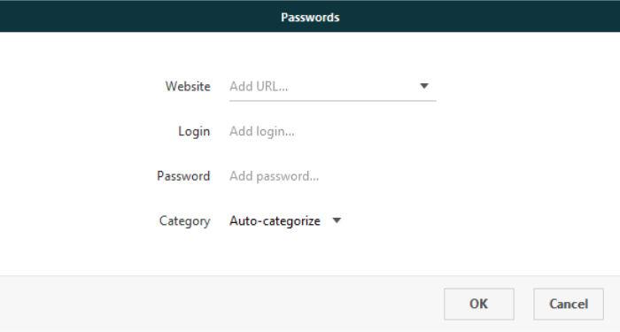 dashlane add new password