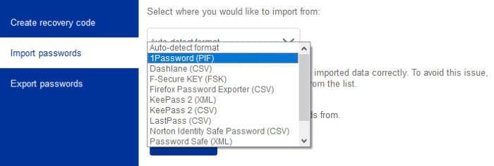f-secure key import passwords tool
