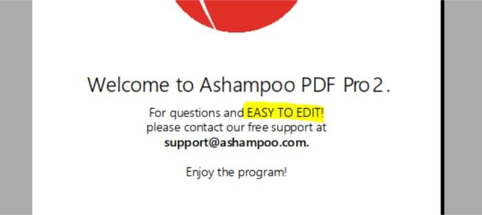 pdf pro 2 editing in use