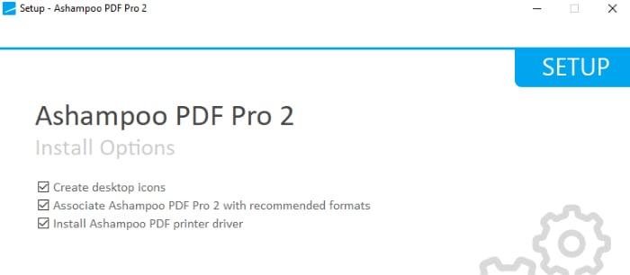 ashampoo pdf pro 2 installer