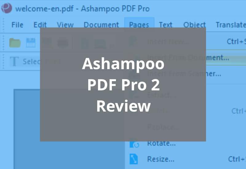Ashampoo PDF Pro 2 Review Featured Image Tile
