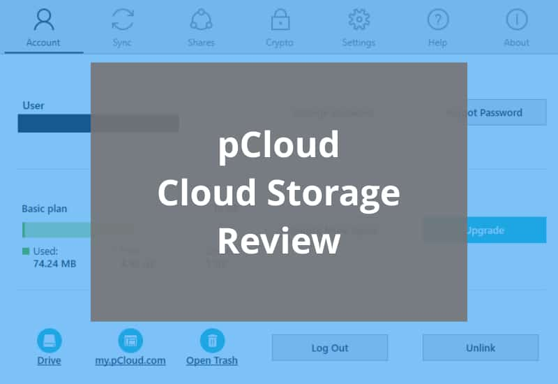 pcloud review featured image