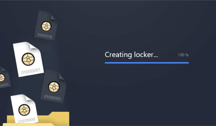 nordlocker creating new locker