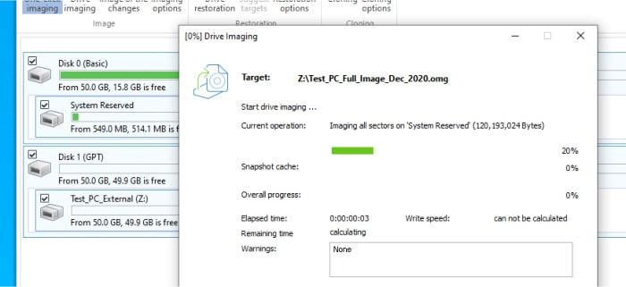 diskimage 16 disk imaging in action