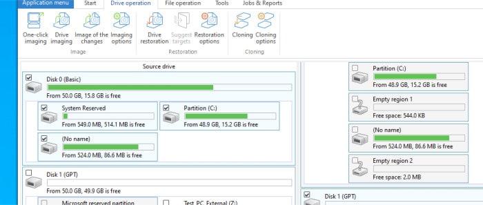 diskimage 16 initial disk cloning screen