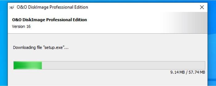 o&o installer downloading updates