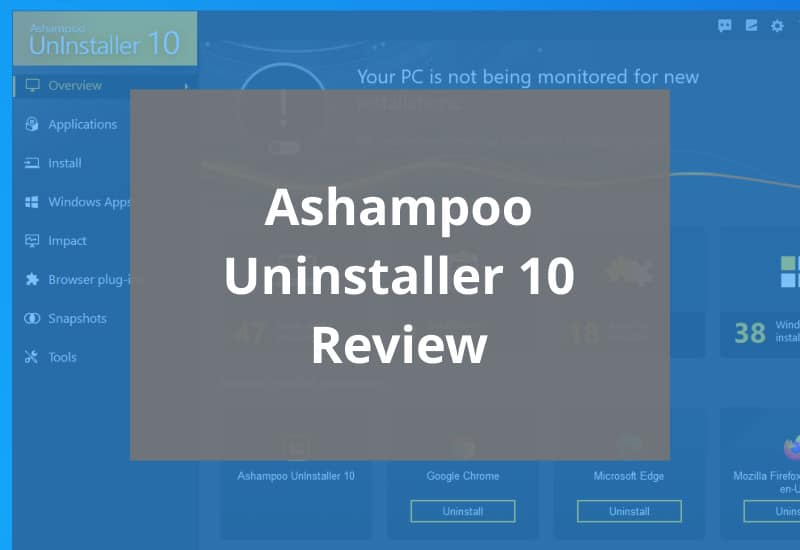 ashampoo uninstaller 10 review featured image