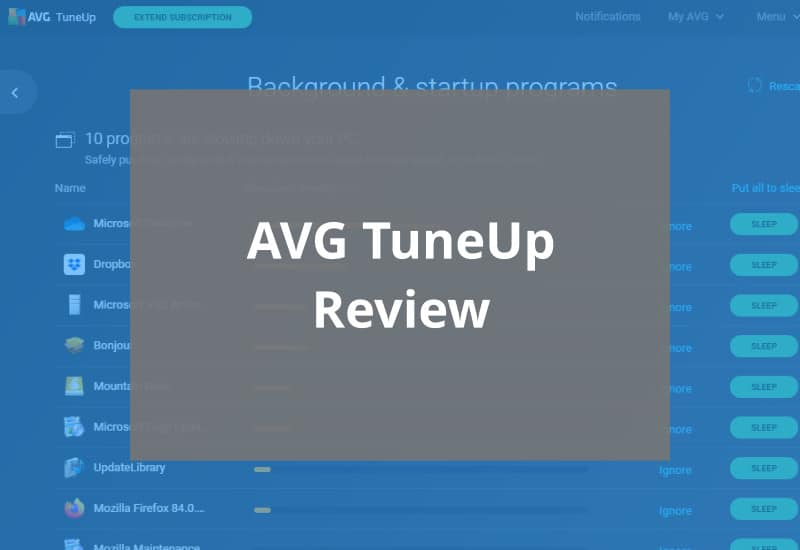 avg tuneup review featured image