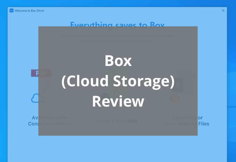 box cloud storage review featured image