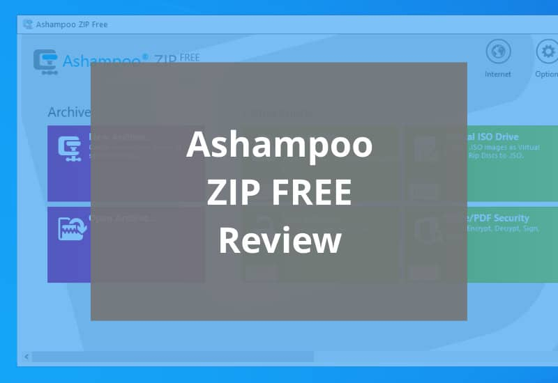 ashampoo zip free review featured image