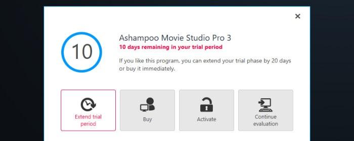 movie studio pro 3 activate or free trial