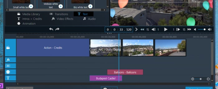 movie studio pro 3 - expert editing mode