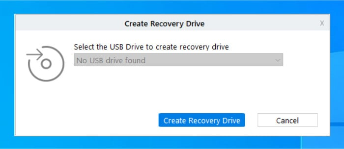 stellar create recovery usb drive