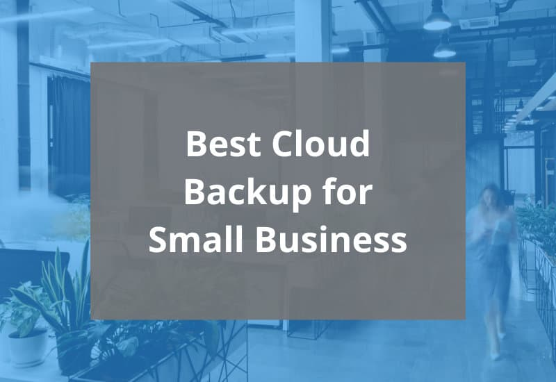 best cloud backup for small business - featured image