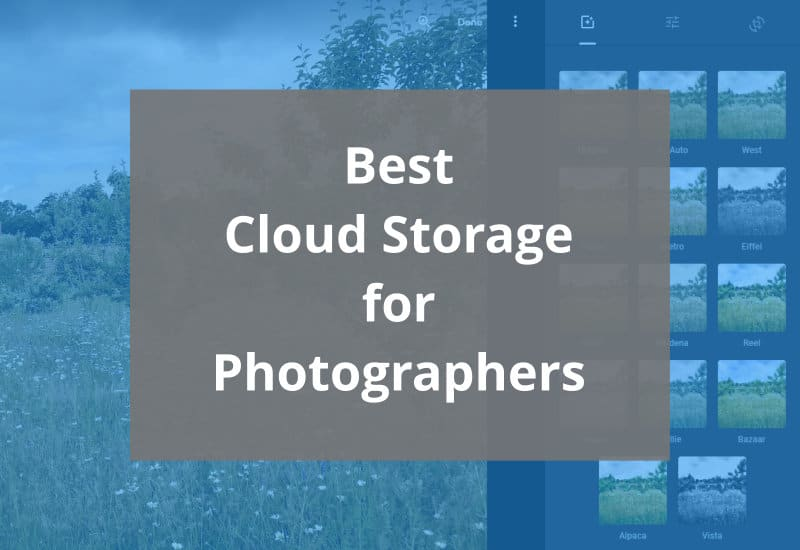 best cloud storage for photographers - featured image