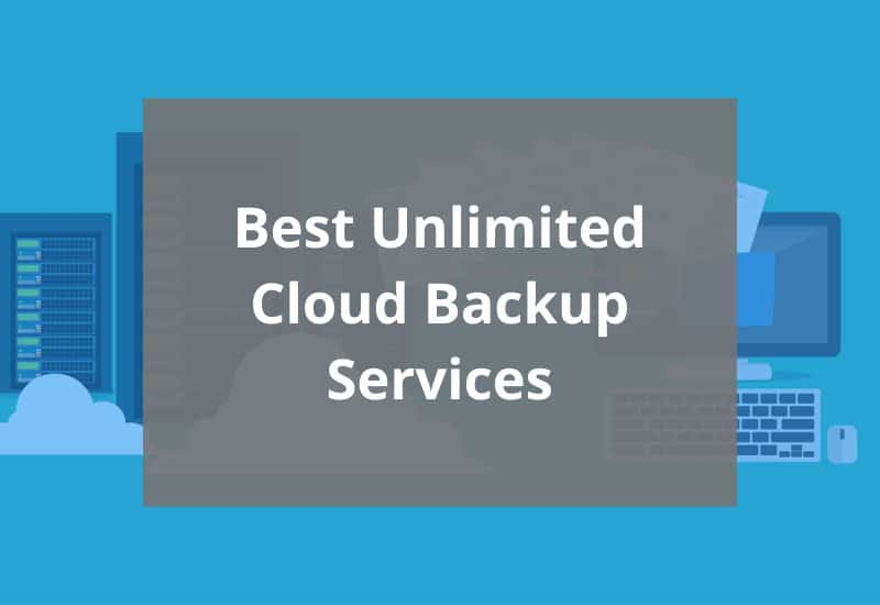 best unlimited cloud backup services featured image