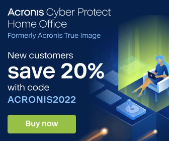 Acronis Cyber Protect Home Office