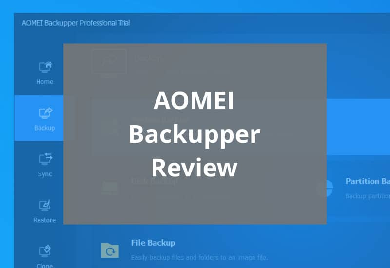 aomei backupper review featured image
