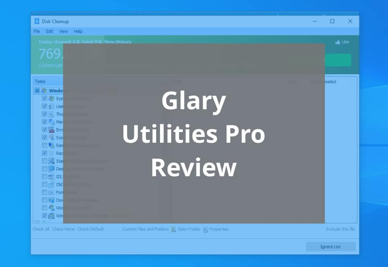 glary utilities pro review - featured image